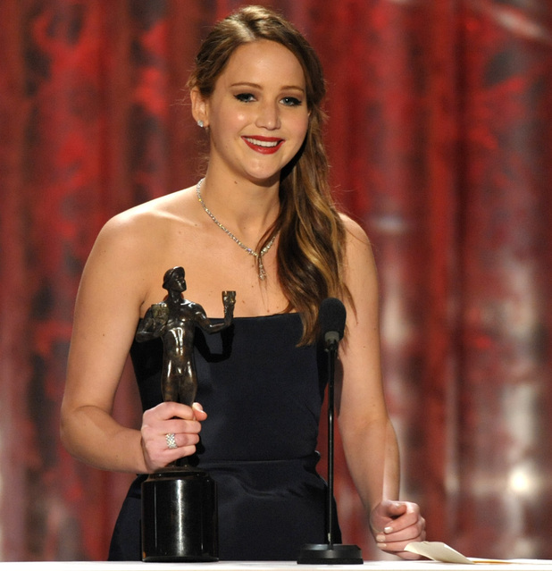 Jennifer Lawrence, SAG Awards 2013