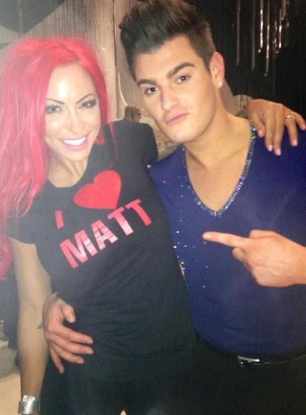 Jodie Marsh and Matt Lapinskas