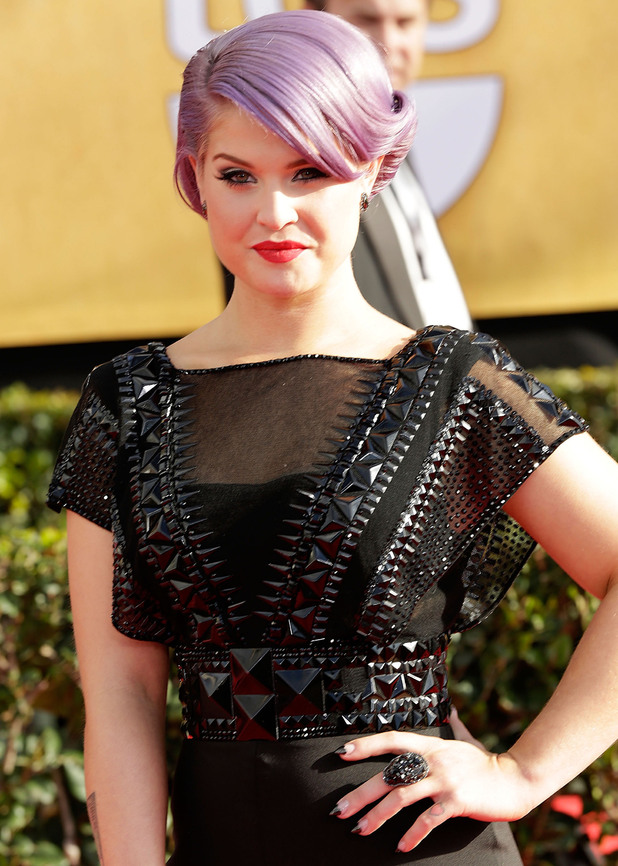 19th Annual Screen Actors Guild (SAG) Awards held at the Shrine Auditorium - ArrivalsFeaturing: Kelly Osbourne Where: Los Angeles, California, United States When: 27 Jan 2013 Credit: Brian To/WENN.com