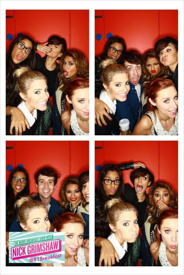 The Saturdays radio 1
