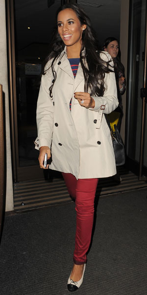 Rochelle Humes at the Mayfair Hotel