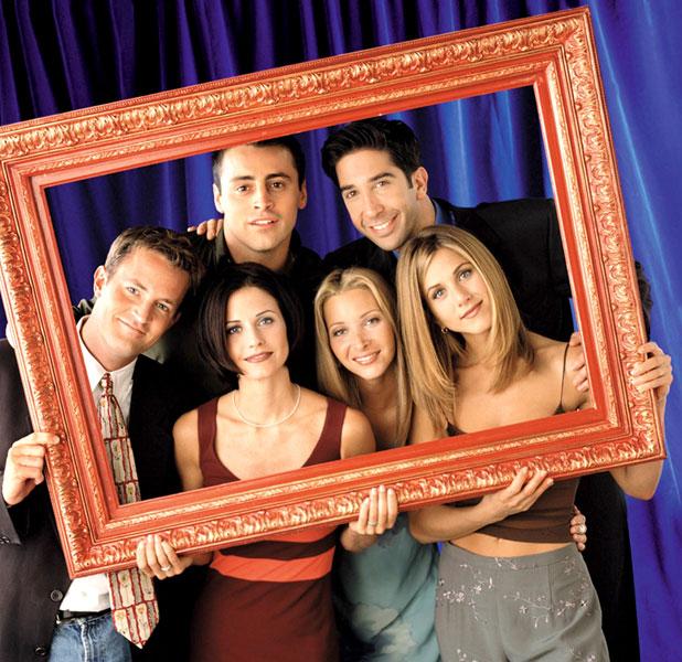The cast of Friends: Jennifer Aniston, Matt LeBlanc, Courteney Cox, David Schwimmer and Matthew Perry