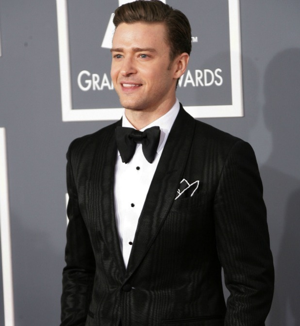 Justin Timberlake - Grammy Awards 2013: Celebrities on the ...