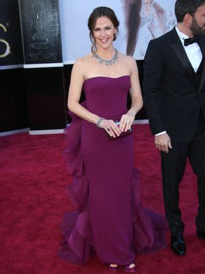 Jennifer Garner, 85th Annual Academy Awards Oscars, Arrivals, Los Angeles, America - 24 Feb 2013