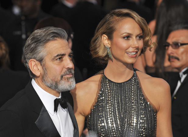 The 85th Annual Oscars at Hollywood & Highland Center - Red Carpet ArrivalsFeaturing: George Clooney,Stacy Keibler Where: Los Angeles, California, United States When: 24 Feb 2013 Credit: Apega/WENN.com