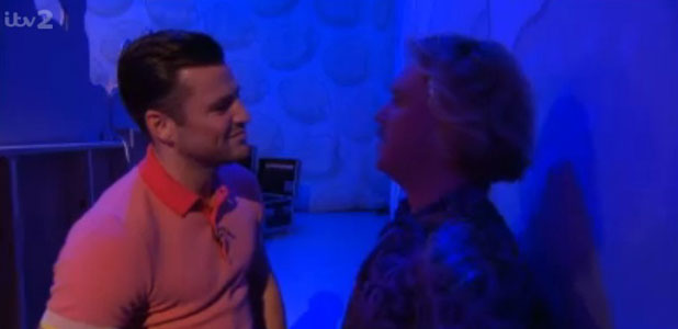 Mark Wright and Keith Lemon talk on Celebrity Juice, 14 March 2013