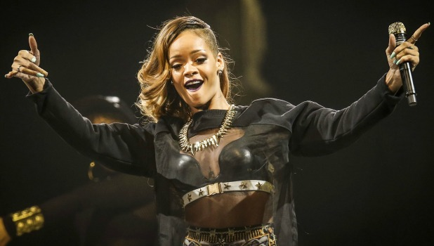 Rihanna brings her Diamonds World Tour to Toronto for the first of two nights