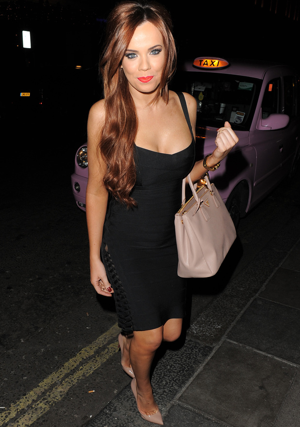 Maria Fowler enjoys a night out in Mayfair Featuring: Maria Fowler Where: London, England, United Kingdom When: 29 Mar 2013 Credit: Will Alexander/WENN.com