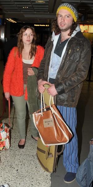 Charlotte Church And Boyfriend Jonathan Powell Dress Down