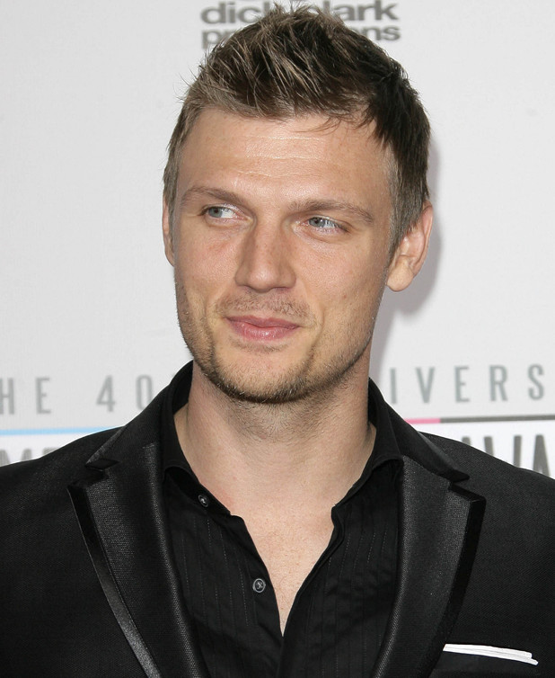 Nick Carter of Backstreet Boys The 40th Anniversary American Music Awards 2012, held at Nokia Theatre L.A. Live - Arrivals Los Angeles, California - 18.11.12 Mandatory Credit: Adriana M. Barraza/WENN.com