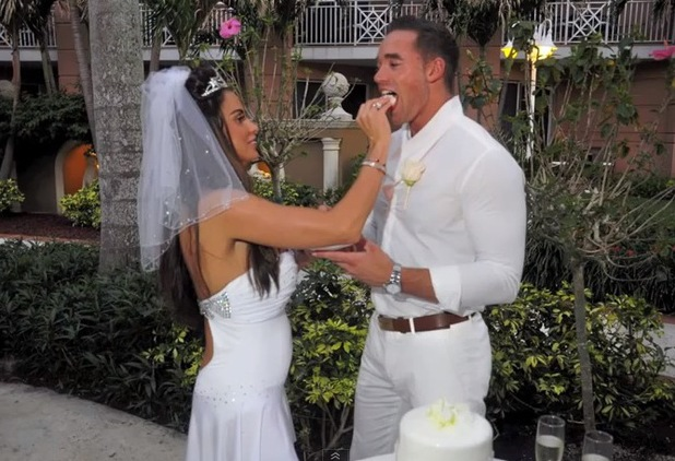 Katie Price and Kieran Hayler wedding cake - 18 april 2013