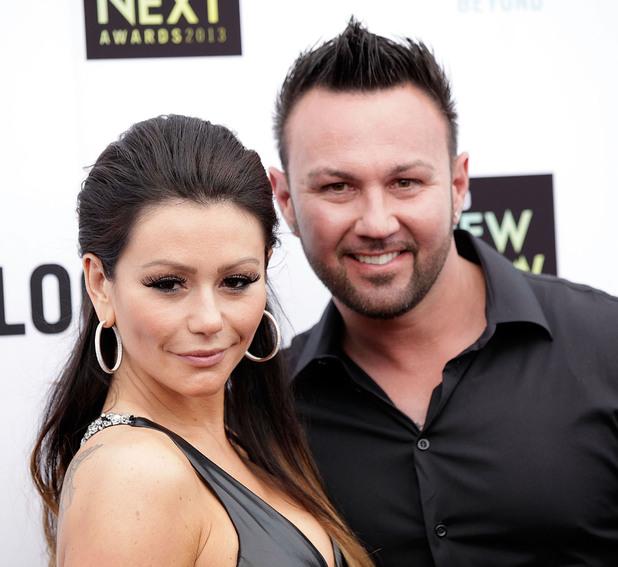 6th Annual Logo 'NewNowNext Awards' at the Fonda Theatre - Arrivals Featuring: JWoww,Roger Mathews Where: Los Angeles, California, United States When: 13 Apr 2013 Credit: Brian To/WENN.com