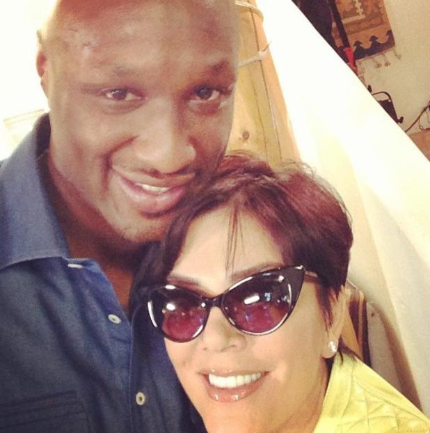 Lamar Odom, Kris Jenner - Kourtney Kardashian celebrates 34th birthday with Kardashian family - 18 April