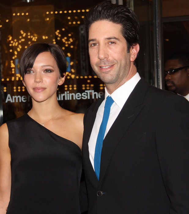 David Schwimmer at the American Airlines Theatre, 16 April 2013