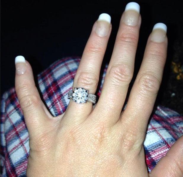 Kerry Katona's engagement ring