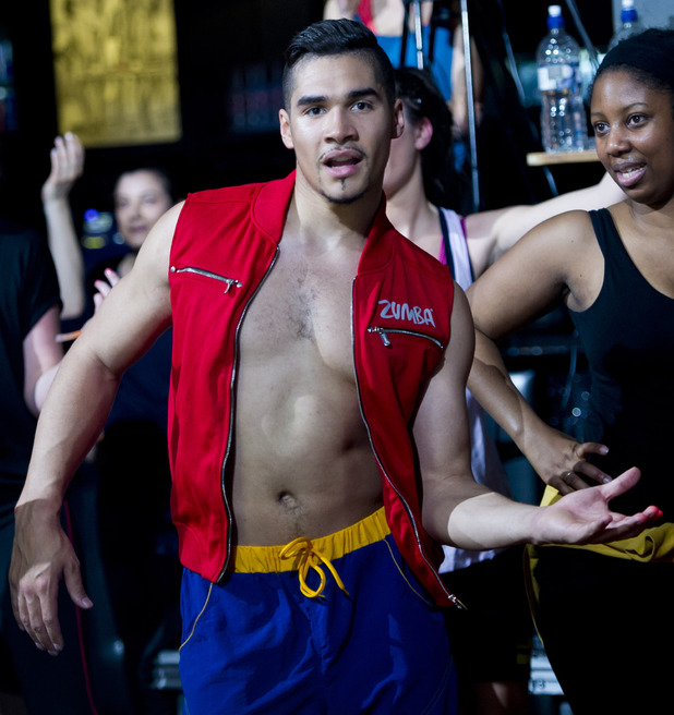 Louis Smith launches The Great Calorie Drive - 24 April 2013