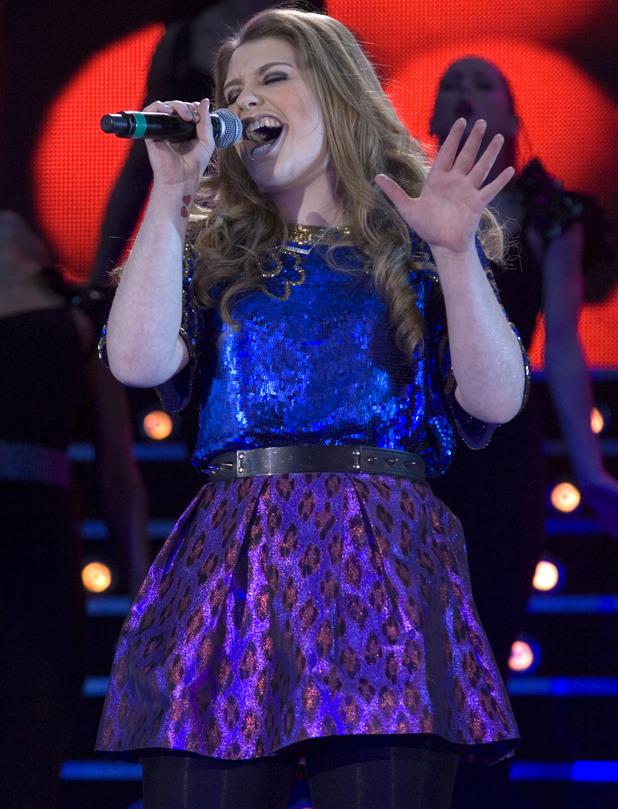 The X Factor Live Tour show at the SECC in Glasgow Featuring: Ella Henderson Where: Glasgow, Scotland, United Kingdom When: 15 Feb 2013 Credit: Peter Kaminski/WENN.com