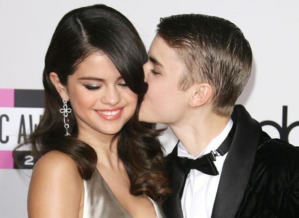 Selena Gomez and Justin Bieber 2011 American Music Awards held at the Nokia Theatre L.A. Live - Arrivals. Los Angeles, California - 20.11.11 Mandatory Credit: Adriana M. Barraza / WENN.com