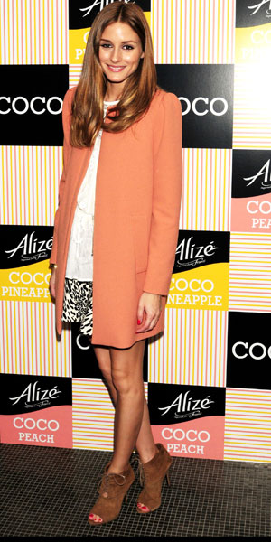 Olivia Palermo at Alize Coco launch on 10 April