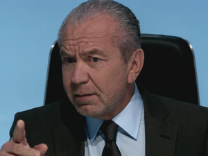 Lord Alan Sugar on The Apprentice