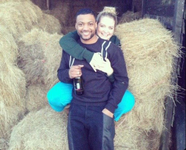 JB Gill and girlfriend Chloe Tangney post picture of new farm on Twitter