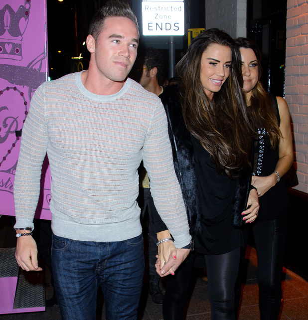 Katie Price arrives at the Miss Essex contest as a special guest judge. 26 April 2013