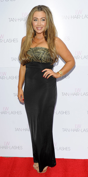 Lauren Goodger Lauren's Way - launch party held at the Jewel Club - Photocall