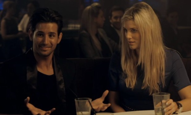 Ollie Locke and Ashley in Made In Chelsea - 6 May 2013