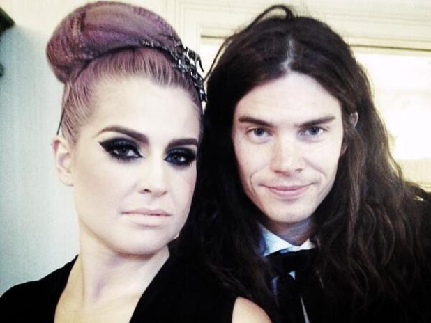 Kelly Osbourne and fiancé Matthew Mosshart on way to Met Gala