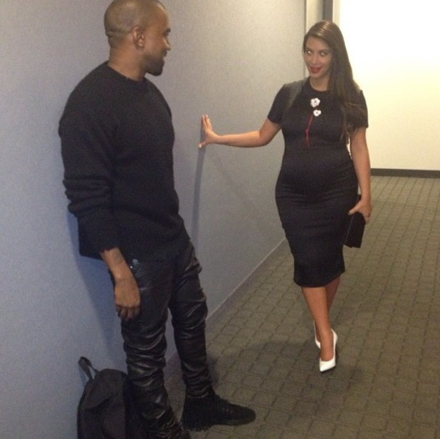 Kim Kardashian and Kanye West on a date in New York, Twitter picture 5 May 2013