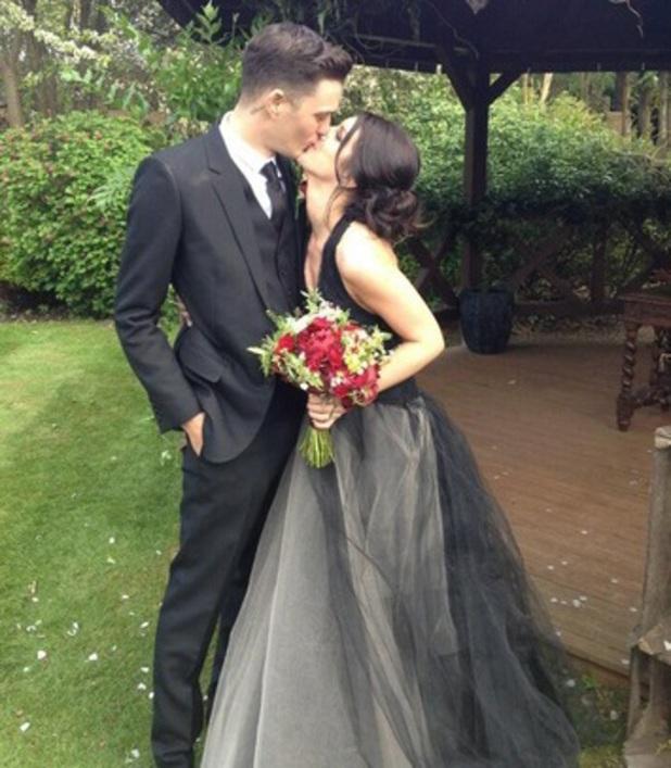 Shenae Grimes couple