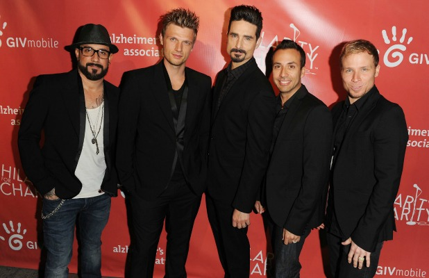 Hilarity For Charity Benefiting The Alzheimer's Association AJ McLean, Nick Carter, Kevin Richardson, Howie Dorough, Brian Littrell - Backstreet Boys