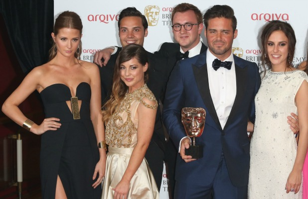 Made In Chelsea stars at the BAFTAs, 12 May 2013