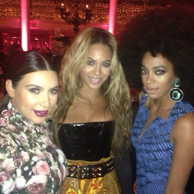 Kim Kardashian, Beyonce, Solange at the Met Ball 2013