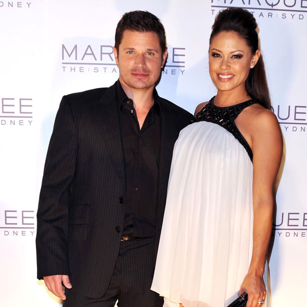 Nick Lachey and Vanessa Minnillo The launch of The Marquee nightclub at The Star - Arrivals Sydney, Australia - 01.04.12