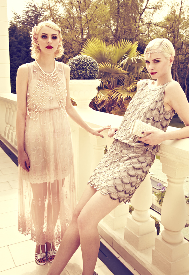 The Great Gatsby Vintage Fashion: Miss Selfridge, Freedshop, Boohoo