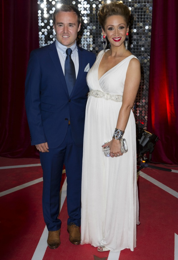 Lucy-Jo Hudson and Alan Halsall, The British Soap Awards 2013 held at the Media City, 18 May 2013