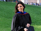 Eva Longoria dons cap and gown to graduate from university - pictures!
