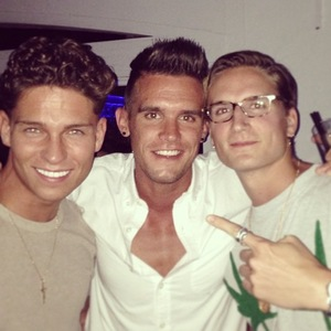 Gaz Beadle, Oliver Proudlock, Joey Essex in Marbella - May 2013