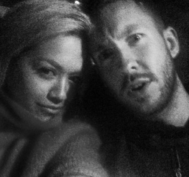 Rita Ora and Calvin Harris pictured together - 31 May