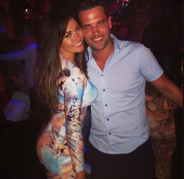 Jess Wright, Ricky Rayment on holiday in Spain - 30 May
