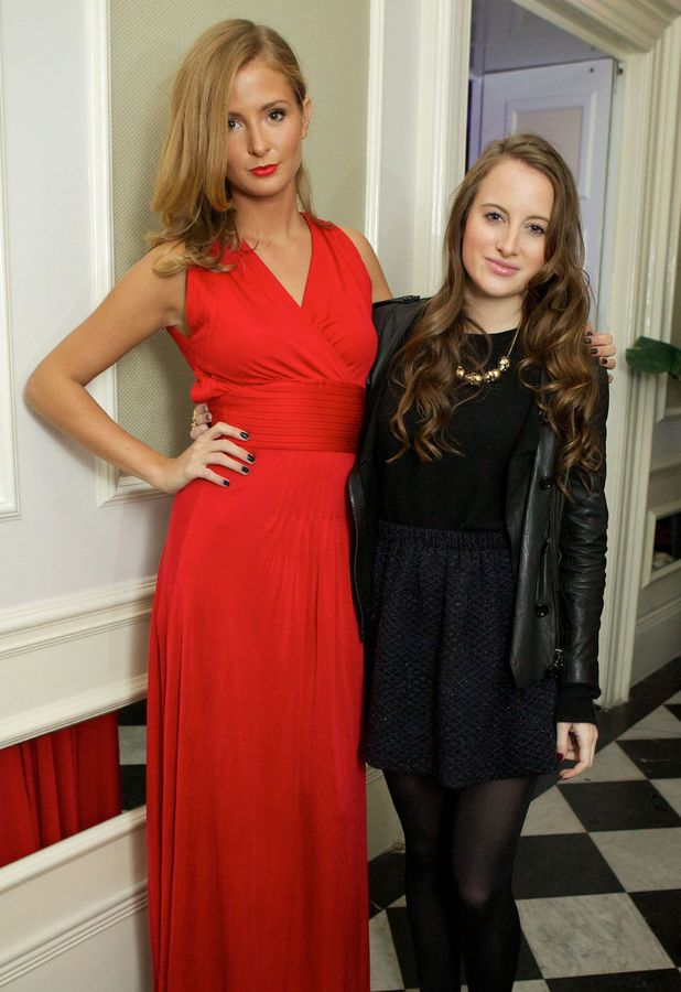 Millie Mackintosh Rosie Fortescue Beulah Blue Heart Campaign Launch Reception at Dorsia, London, Britain - 18 Oct 2011