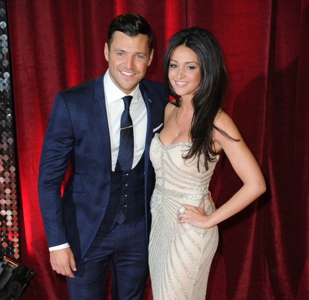 The British Soap Awards 2013 Caption:	The British Soap Awards 2013 - Arrivals PersonInImage: Mark Wright, Michelle Keegan Credit : Steve Searle/WENN.com