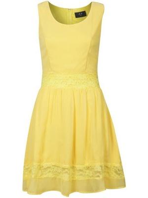 Reveal Shop yellow dress