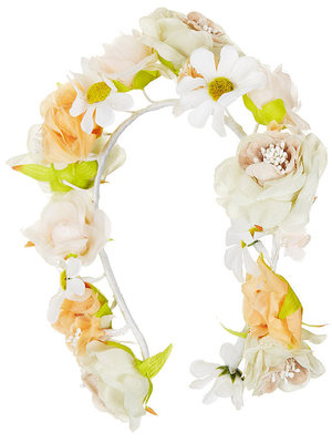 Topshop full daisy floral garland for hair