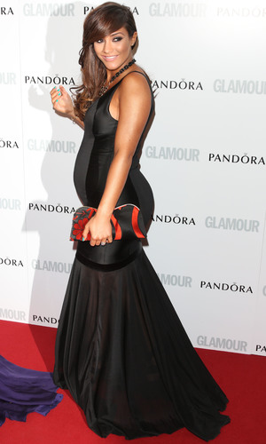 Frankie Sandford -Glamour Women Of The Year Awards held at Berkeley Square Gardens - Arrivals - 4 June 2013