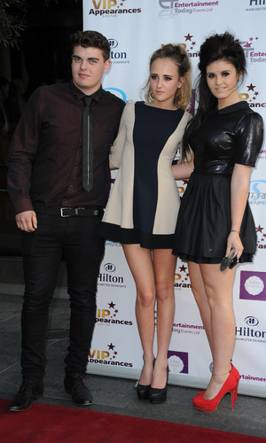VIP Appearances Launch - 5 June 2013 - Kym Marsh's children, Emily and David