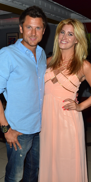 Made In Chelsea star Francesca Hull with boyfriend at her birthday party at Retro Feasts at 29 Old Burlington Street, June 7 2013