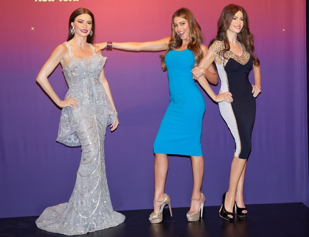 Sofia Vergara unveils two Madame Tussauds wax figures in Times Square - June 4