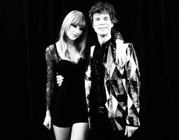 Taylor Swift and Mick Jagger in Chicago - 3 June 2013